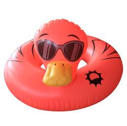 Het koele Stuk speelgoed van het Water van de Vlotter van de Pool van de Ring van de Eend Opblaasbare Zwemmende