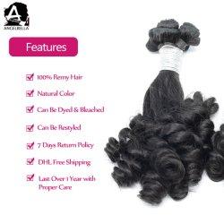 緩いFunmiを黒人女性のためのRemyの人間の毛と決め付けるAngelbellaの優れた毛