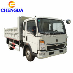 Dump 3tonne Mini Sino HOWO 4X2 pour la vente de camion léger