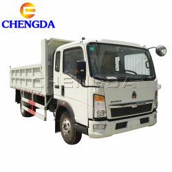 판매를 위한 Sinotruck 덤프 3ton 5tons 8tons 소형 4X2 6 짐수레꾼 Sino HOWO 경트럭
