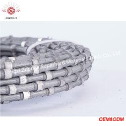 유럽 시장 플라스틱 다이아몬드 철사는 화강암 구획을 옷을 입기를 위해 보았다
