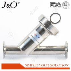 3Un SMS DIN EN ACIER INOXYDABLE sanitaires de qualité alimentaire y filtre crépine Tri collier de serrage