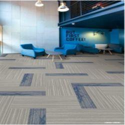De Nylon 6 Office carpete modular com revestimento de PVC e fibra de vidro