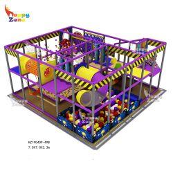 Pequenos equipamentos de playground coberto Softplay definido para as crianças
