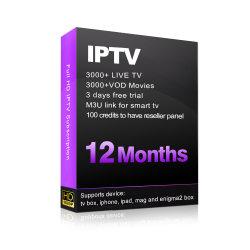 L'IPTV d'abonnement avec USA Canada UK Italien Allemand Français Portugais Polonais Latina arabe Brésil canaux IPTV