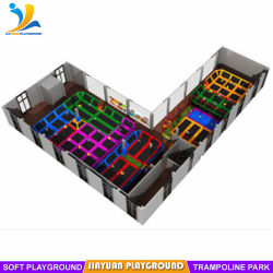 Adulte de l'équipement de conditionnement physique à l'intérieur Trampoline pour la vente
