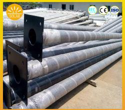 China buena calidad de galvanizado poste de luz solar poste de luz
