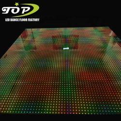 Los nuevos elementos Blanco/Negro DJ Niños video xxx de vídeo de píxel LED iluminado por las estrellas la alfombrilla de baile de discoteca