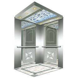 Machineroom Edelstahl-Spiegel-Haarstrichpassagier Ascensor Elevator1-9 Sets