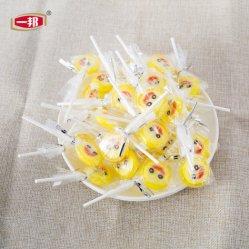 Lindo colorido Banana Bom de gran sabor de frutas dulces Lollipop Lollipop