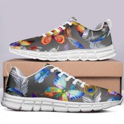 En primer lugar de zapatos de baile para la Mujer 2019 Zapatos de lona impresa Animal cat sneakers zapatos para damas calzado superior baja lindo perro Zapatos de impresión