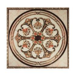 Acabado de vidrio resistente cristal pulido el patrón de la alfombra de porcelana de baldosas de cerámica en la India