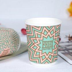 Desechables personalizados de papel de pared doble taza taza de café de American Airlines en el mercado estadounidense