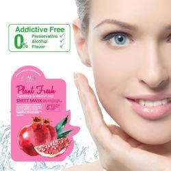 얼굴 가면을 강화하고는 & 습기를 공급하는 열성 자연적인 플랜트