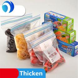 La personnalisation du PEBD sac à fermeture ZIP en plastique biodégradable Amidon de maïs compostables PLA Diapositive Zip style sac de l'Emballage Alimentaire du fabricant