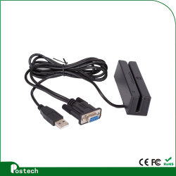 3 Lezer van de Kaart van het spoor de Programmeerbare Mini om Magnetische Kaart, met USB of Serie te steunen