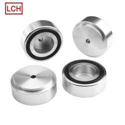 La producción personalizada de la industria de Audio/Vídeo de aluminio mecanizado CNC de piezas acabadas en negro para Audio Recorder