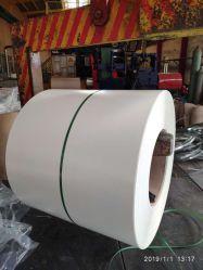 PPGL Doble Hoja de acero con recubrimiento de color blanco/bobina