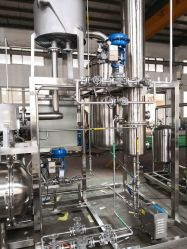 El CDB de etanol de aceite de la caída de la extracción de la recuperación de la película el evaporador
