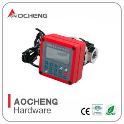 12V/24V/220V цифровой передачи овальной формы измерителя расхода дизельного/количественной оценки расхода дизельного двигателя