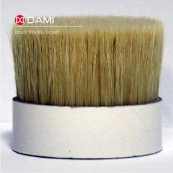 Wit Mengsel Gekookt die Varkenshaar met de Synthetische Verminderde Gloeidraden van het Huisdier van de Polyester PBT voor het Maken van de Borstels van de Verf wordt gemengd