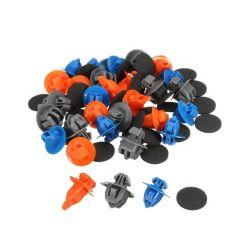 自動プラスチックリベット車のナイロン締める物の自動車クリップ、プラスチック押しのタイプリベット押しのタイプ保持器クリップPOMクリップ