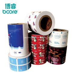 Fabrico de fábrica bebê tecidos húmidos embalagens de folha de alumínio branco/alumínio papel de embrulho Restaurante toalhetes de papel de embalagem