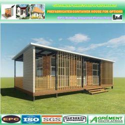 Paquete plano prefabricadas Casa contenedor Modular plegable los precios de la Energía Solar Powered prefabricados casas y Casa Contenedor integrado en paquete plano y están decoradas