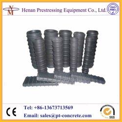 ポストの引張りの波形のHDPEの円形および平らなプラスチックDut