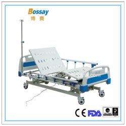 Venta caliente eléctrica de las funciones de buena calidad 3 cama de hospital