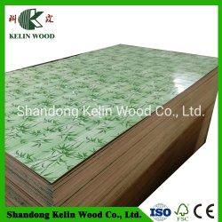 Melamin stellte Papierfurnierholz für Dekoration gegenüber