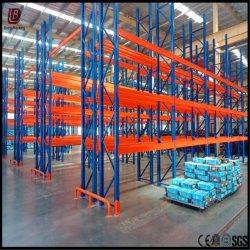 中国製倉庫の記憶鋼鉄頑丈なパレットラック