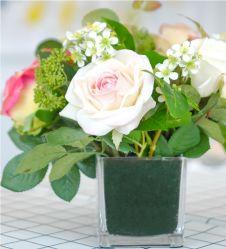 Gomma piuma floreale di alta qualità del fiore dell'oasi all'ingrosso dei mattoni per la disposizione di fiore