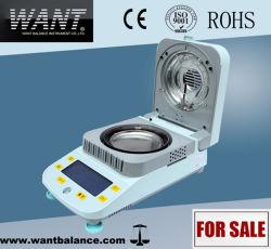 Tester di umidità elettronico del riscaldamento dell'alogeno della polvere di Digitahi