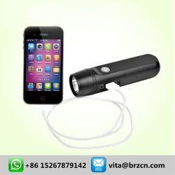 Caricatore e torcia elettrica mobili della dinamo del USB