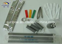 紫外線安定した冷たい収縮の終了及び接合箇所1-36kv
