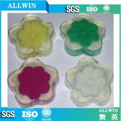 Natural de flores artesanais sabonete transparente
