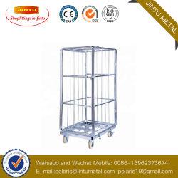 Almacén de servicio pesado y almacenar Roll Container/contenedor de malla de alambre o cable Cage/Roll Container
