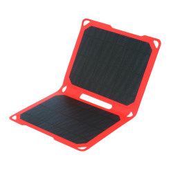 panneau solaire pliable 10W Chargeur Portable Banque d'alimentation USB Téléphone Mobile Portable Batterie iPhone