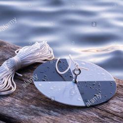 Океан озера реки Secchi диск для использования в лаборатории контроля качества воды