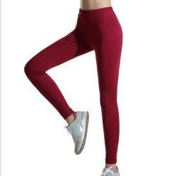 Usura di ginnastica più poco costosa di prezzi di Legging di yoga elastica del poliestere 20% di 80%