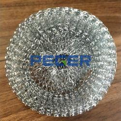Laveur de vaisselle/Mesh Scourer Scourer/STEEL/fer bille de nettoyage