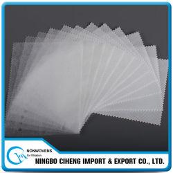 Eco-Friendly PP blanco Spunbond tela no tejida para el bolso