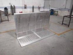 Barrières de pliage, l'aluminium sert à contrôler la foule de barrières de contrôle de foule