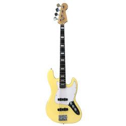 2019 guitare basse électrique de haute qualité 4, Chaîne de peinture couleur Cream-Like, support OEM, le commerce de gros guitare basse électrique