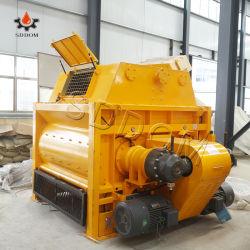 El hormigón Beton eje doble mezclador mezclador de concreto para productos mixtos planta mezcladora de concreto