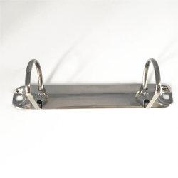 二重リングが付いている金属ロックのリングバインダクリップの文房具の供給