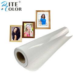 240gsm RC Pigment couché jet d'encre du rouleau de papier photo brillant pour imprimante Canon IPF