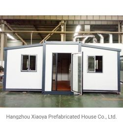De prefab Capsule van de Villa combineerde het Mobiele Modulaire Uitzetbare Geprefabriceerde Huis van de Container