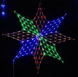 LED 크리스마스 불빛 전시 휴일 훈장 LED 순수한 빛